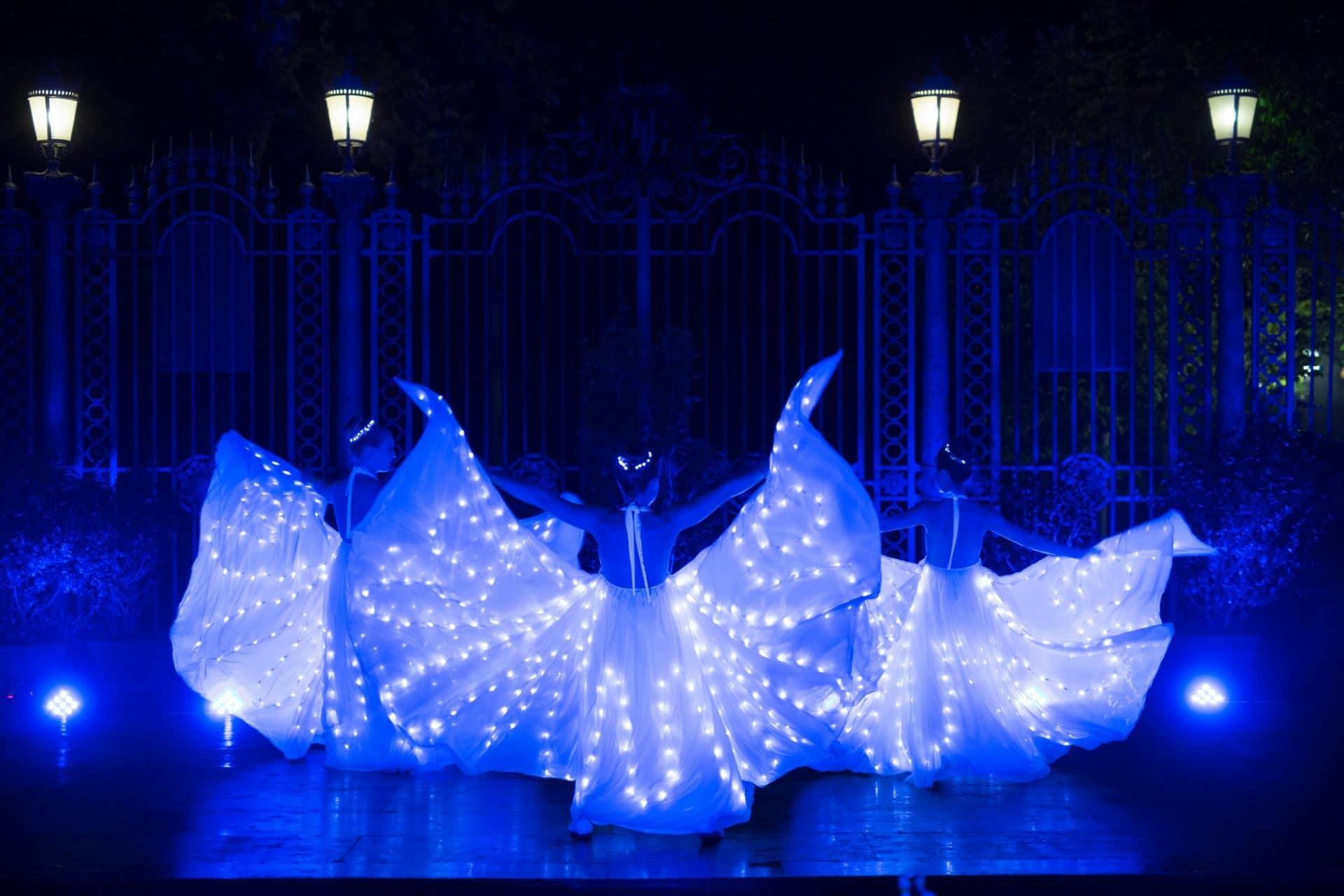 performance ali luminose kaleydo entertainment